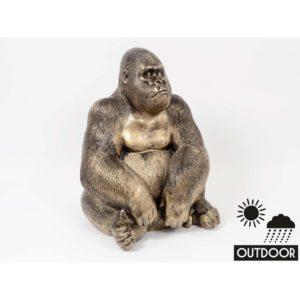 statue deco gorille