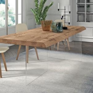 table de qualite haut de gamme design verre